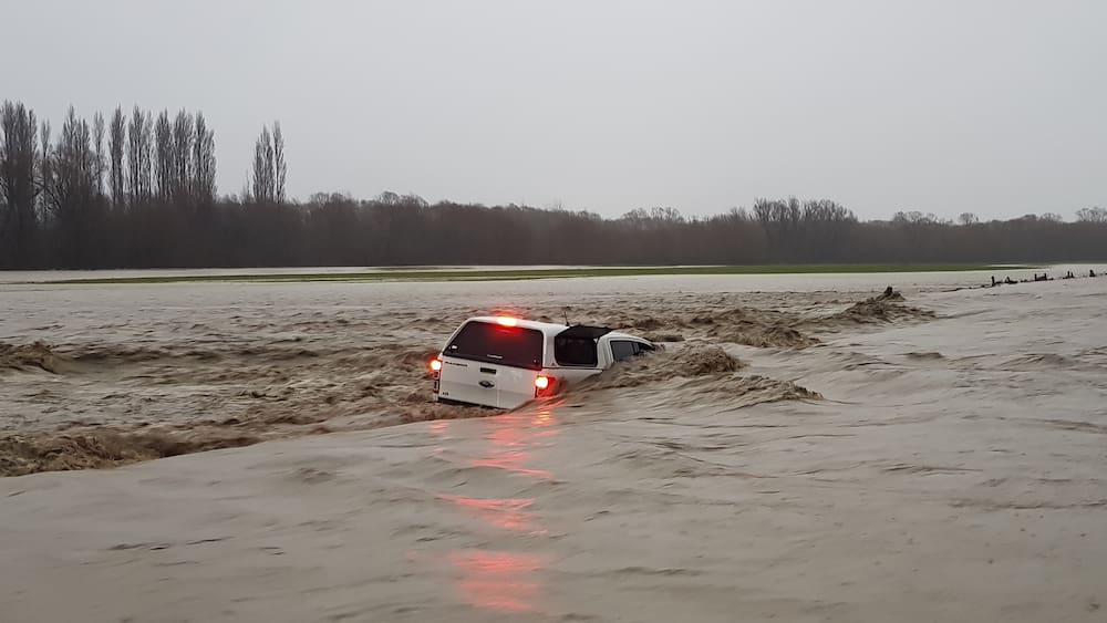 Severe floods in the southern island of New Zealand