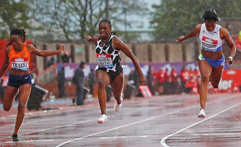 100 m in Gateshead (UK)