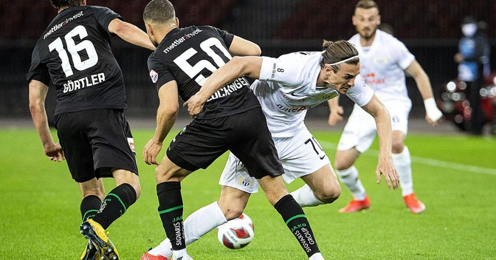 Zurich lost a 2--0 lead against St. Gallen +++ and Sion beat Lucerne