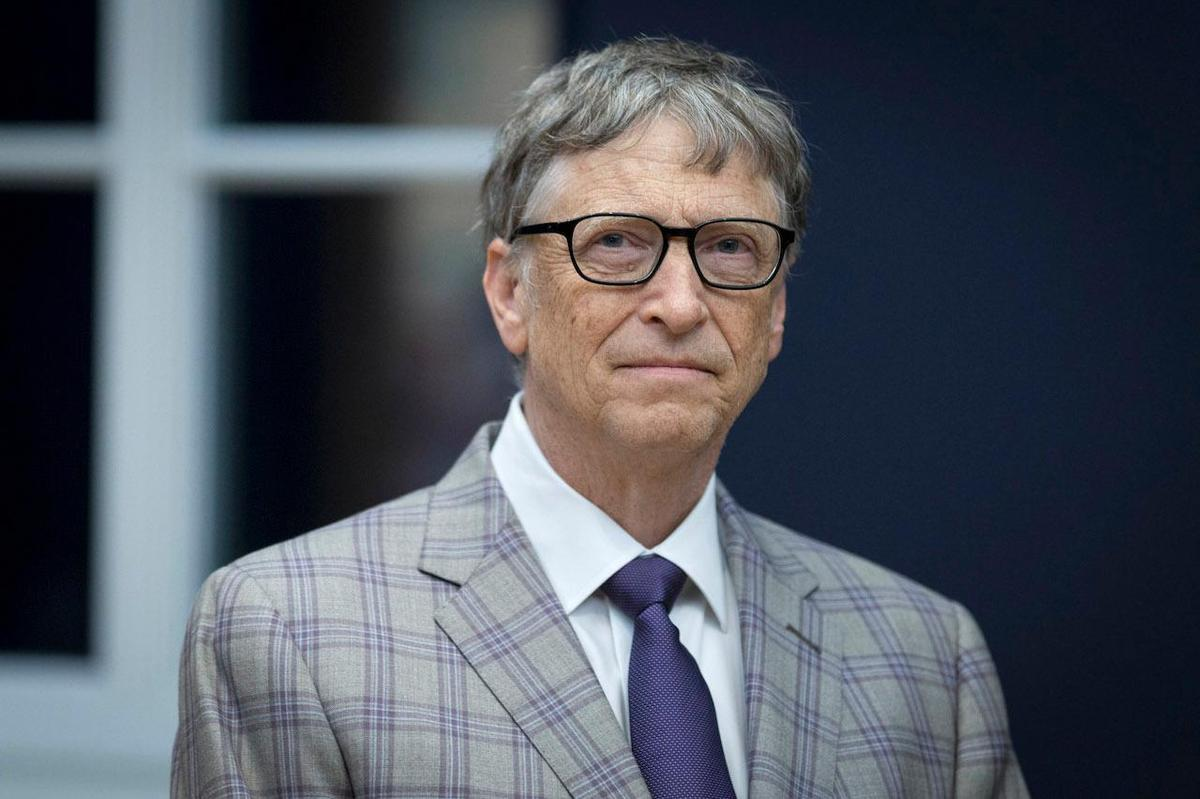 Bill Gates is involved in malaria control research through his foundation.