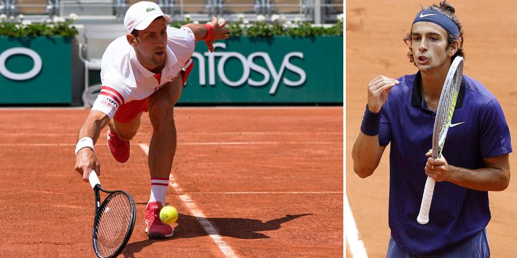 Novak Djokovic saves himself at the French Open with a toilet break