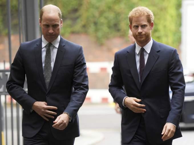 Prince Harry Prince William