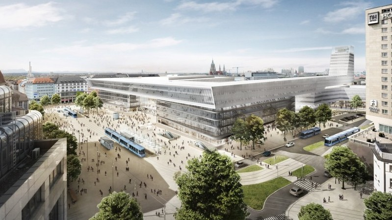 Munich Central Station: more space for bicycle traffic - Munich