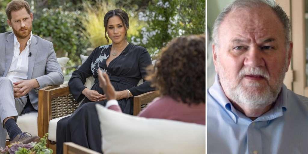 Dad accuses Oprah of taking advantage of 'weak' Harry