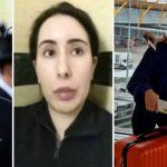 The picture is supposed to show the missing princess Latifa in Madrid