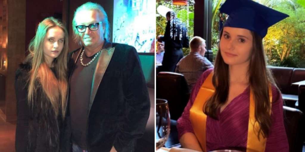 Jason's daughter Davina celebrates her high school graduation - to be the first in the family