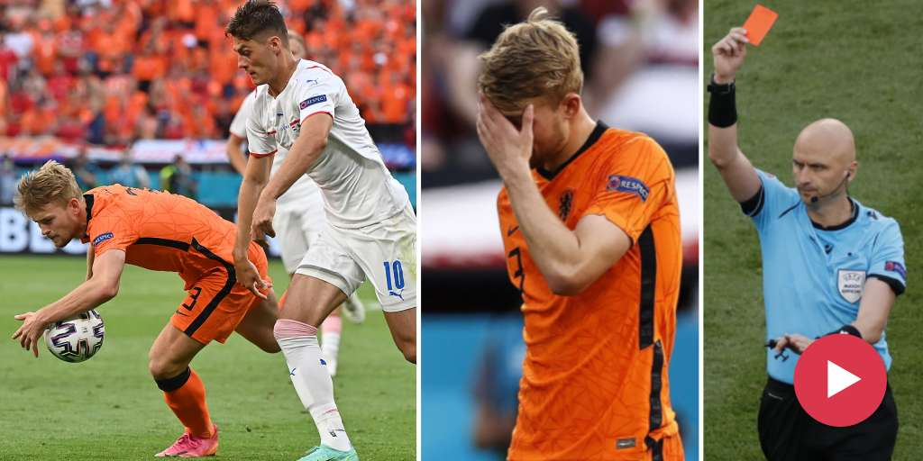 The failure of the Netherlands in the outnumbered Czech Republic
