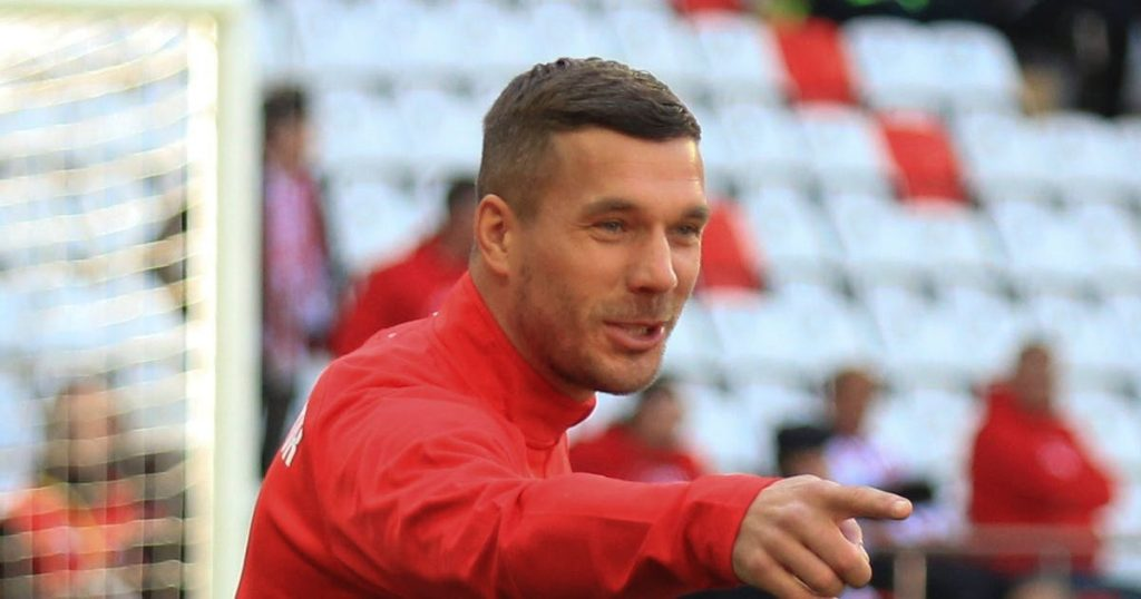 Lukas Podolski will be the new Bohlin and he wants to be fair