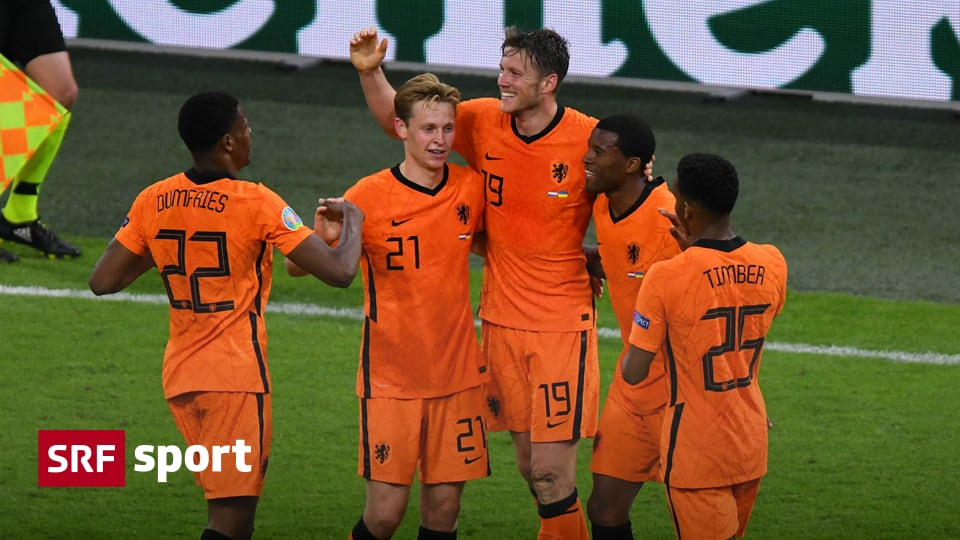 3-2 against Ukraine in the European Nations Cup - the Netherlands tremble in a scene of 5 goals to victory - Sports
