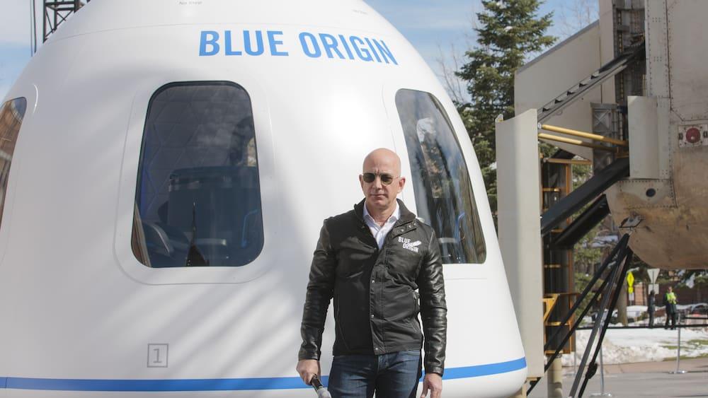 Amazon founder Bezos wants to go to space