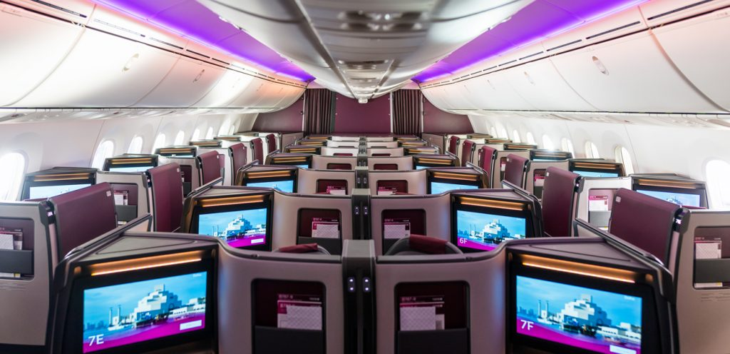 Boeing 787-9 Business Class: This is Qatar Airways' new Q Suite