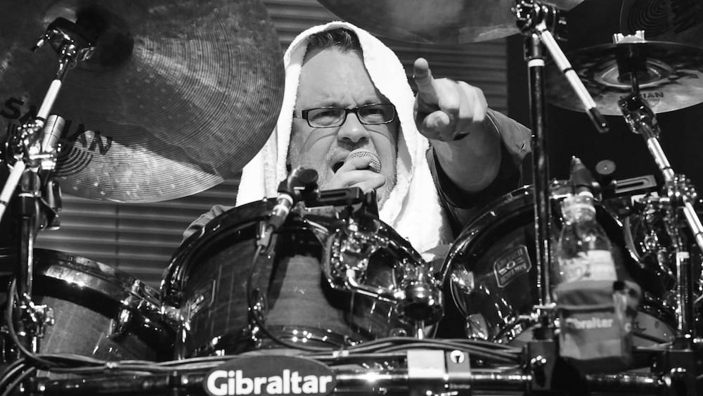 Drummer Burr: Martin Stoick was 57 years old