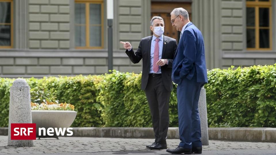 Exchange in Geneva - Parmlin and Cassis meet with US President Biden - News