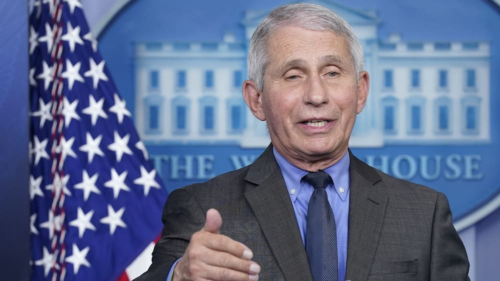 Fauci reacts to detected emails