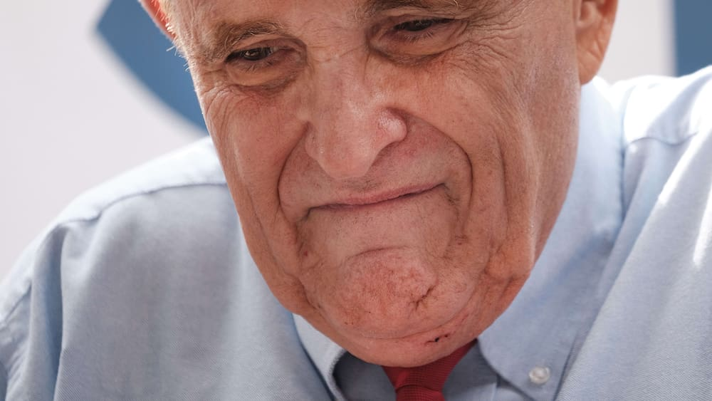Former Trump lawyer Rudy Giuliani is no longer allowed to work as a lawyer