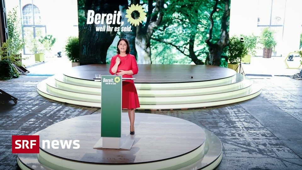 German Green Party in the election campaign - Barbock demands liberation - News