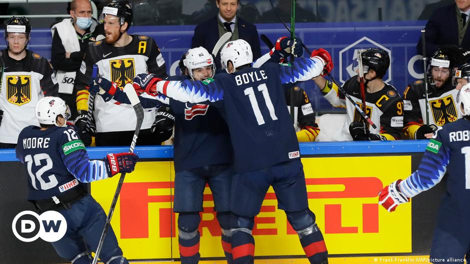 Ice Hockey World Cup: USA show frontier DEB team |  Sports |  DW