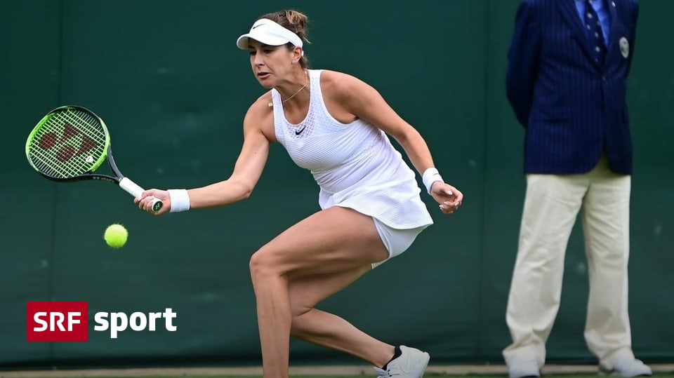 Knocked out in the first round - disappointed Bencic and Tishman at Wimbledon - Sport