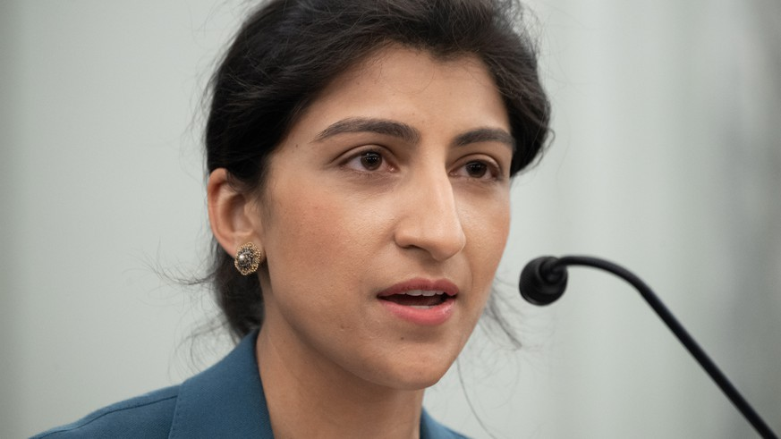 Lina Khan deals with Amazon, Facebook and Google