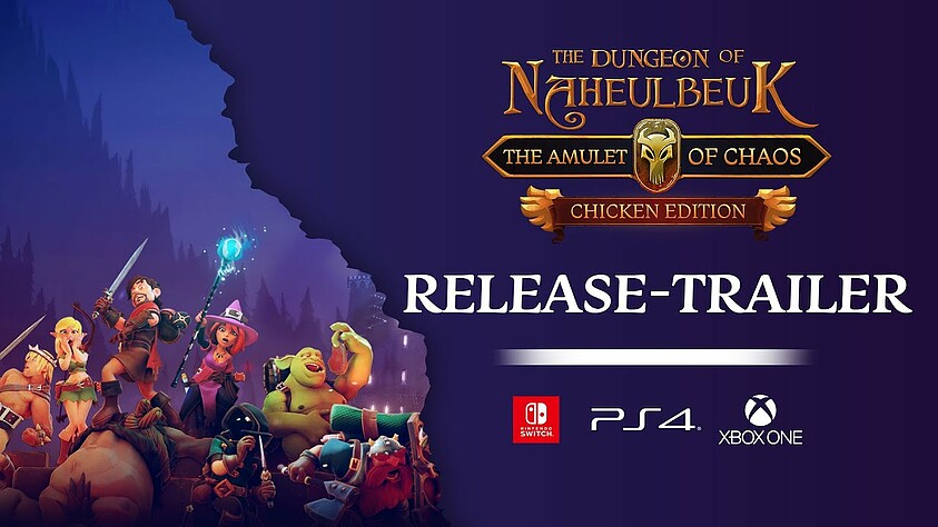 Naheulbeuk's Dungeon: Amulet of Chaos for consoles starting today
