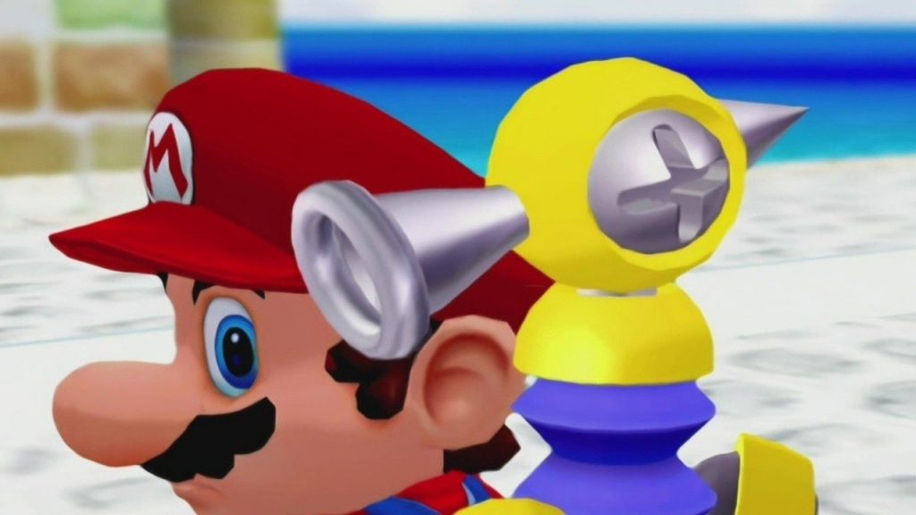 Super Mario Sunshine Flood appears in the new Mario Golf