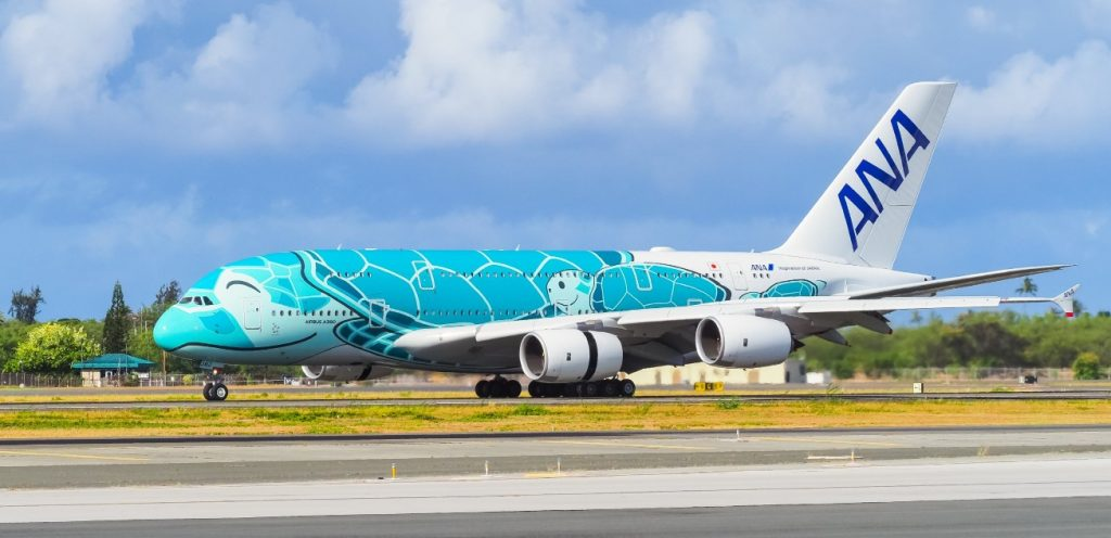 Superjumbo: All Nippon Airways is returning an Airbus A380 to Hawaii