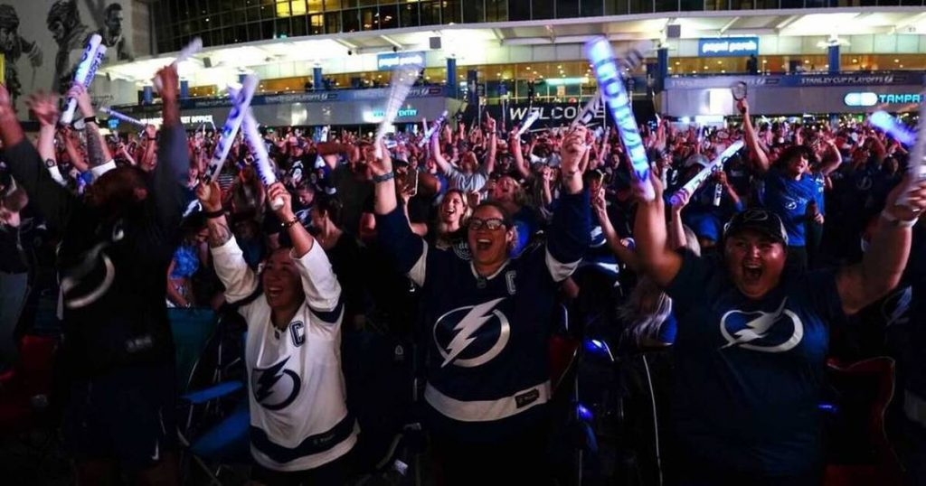 Tampa Bay with the Lightning and Buccaners the new sports capital of the USA?
