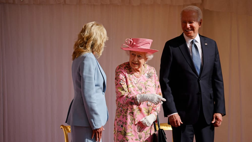 The Queen receives US President Biden and the first lady in Windsor