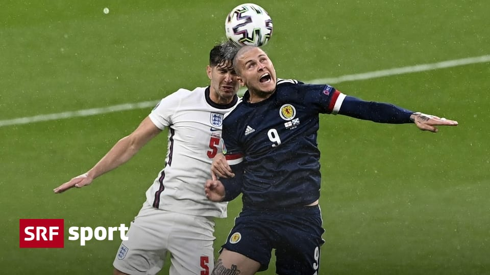 The second match in Group D - Scotland challenge England by one point - Sports