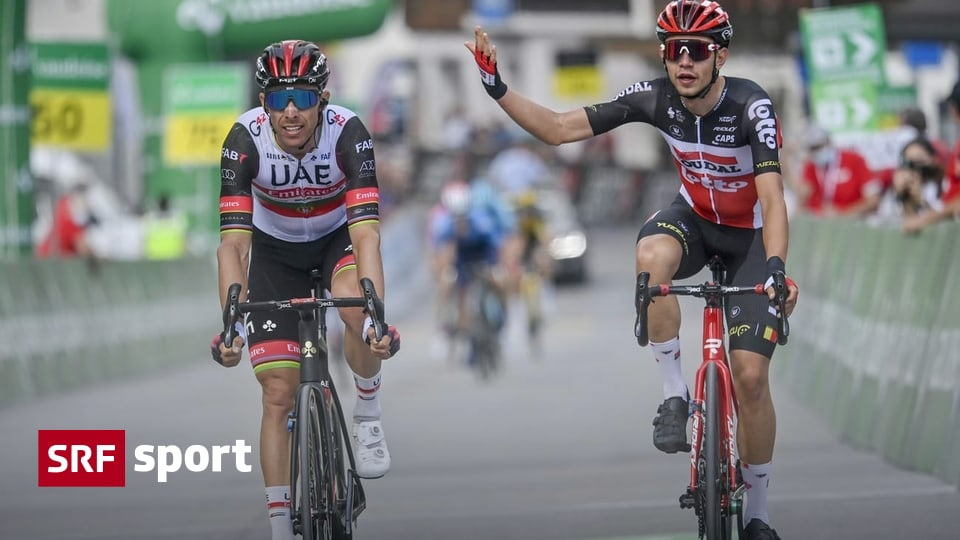 Tour de Suisse sixth stage - Kron wins after chaos at finish line - Carabaz remains in yellow - Sport
