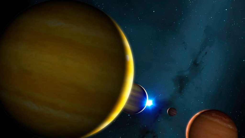 """Universe: If the star HR 8799 dies, a giant """"space fin"""" is created"""