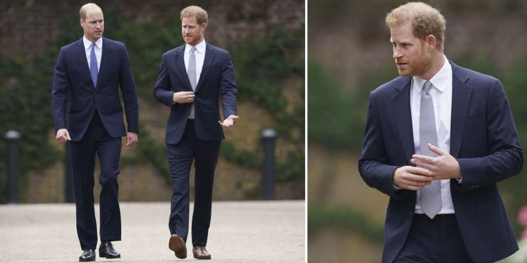 Prince Harry was 'inner nervous' at meeting William