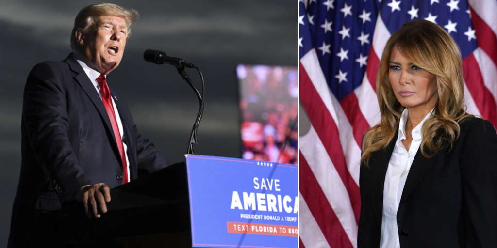 Are Donald Trump and Melania really going their separate ways?