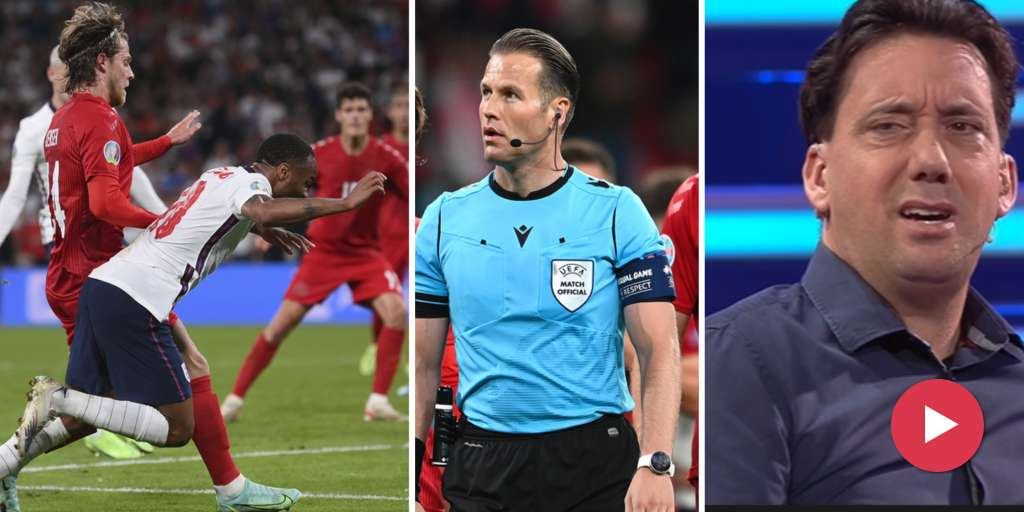 Severe criticism of the semi-final referee after the penalty decision