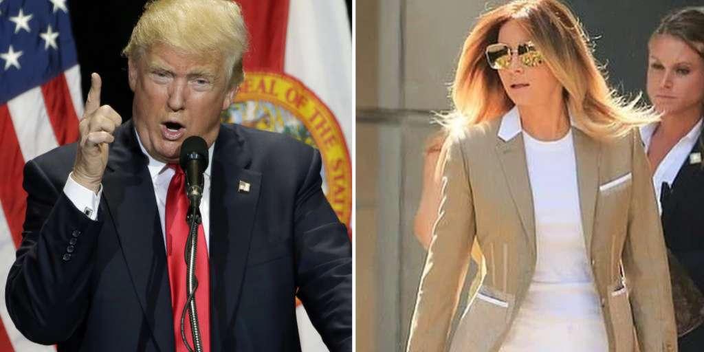 Melania Trump returns to New York