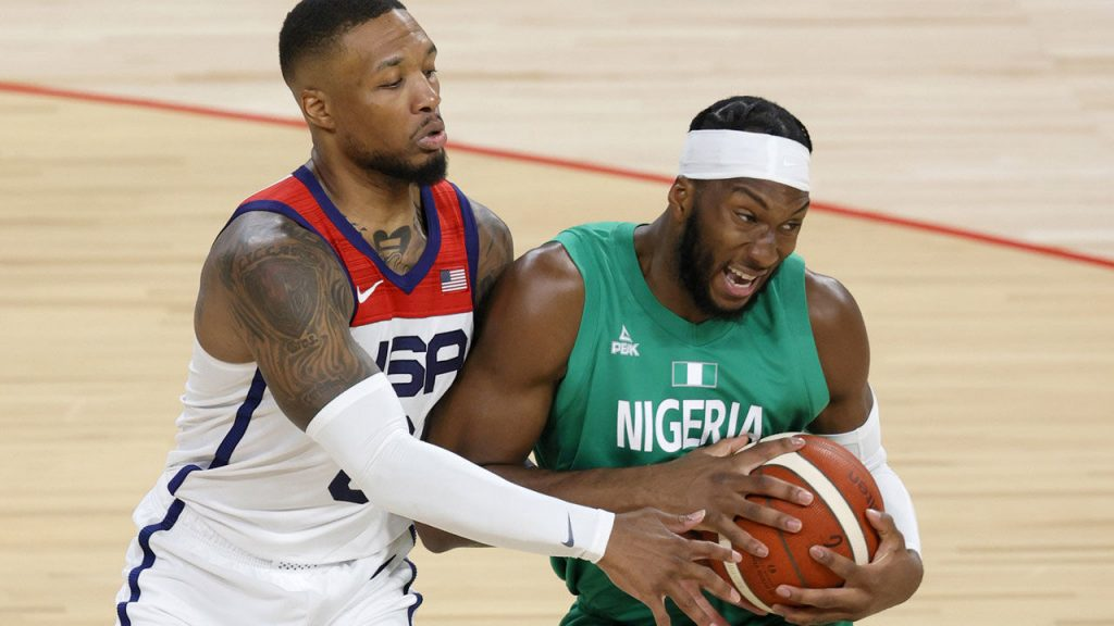 Basketball: USA drops out of Olympic test against Nigeria