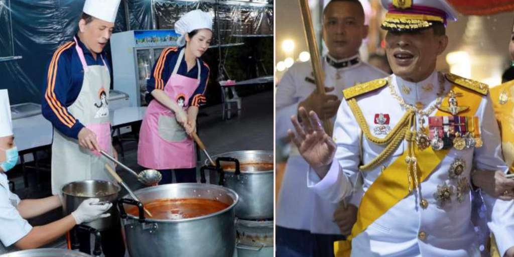 Thailand's King Maha Vajiralongkorn threatens to have an epileptic fit