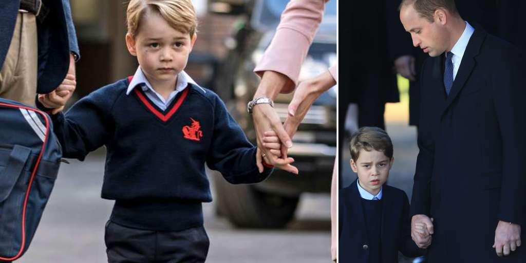 Should Prince George leave London after his eighth birthday?