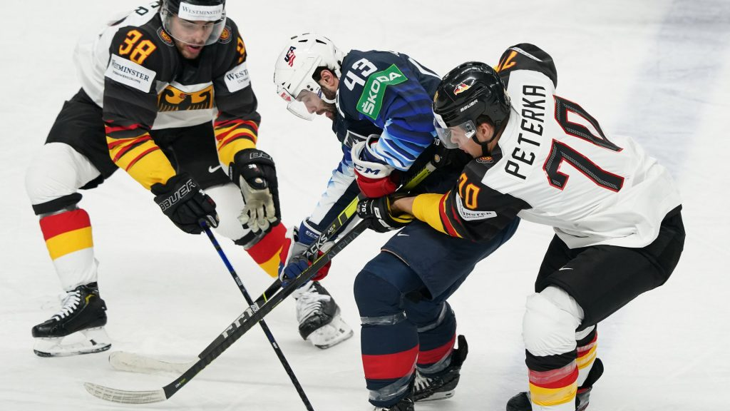 Ice Hockey World Cup preliminary round: Germany loses to USA