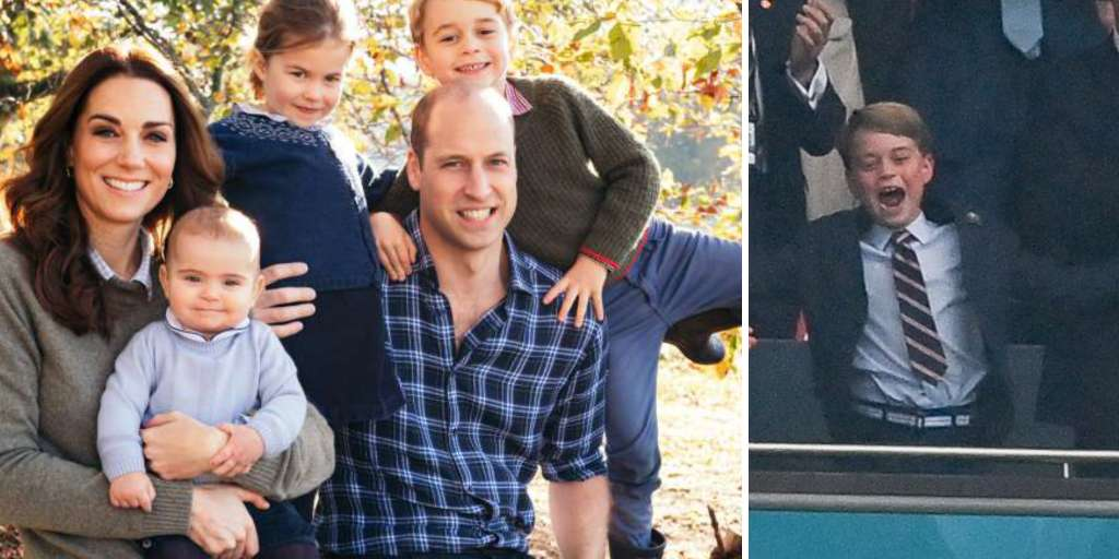 """Prince George, 7, lives in a family """"full of love and affection""""."""