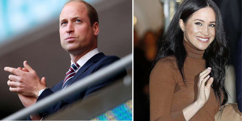 Prince William rises to the roof of Meghan's fans