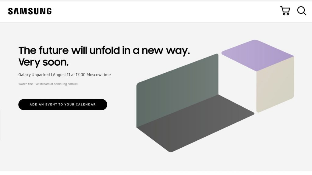Galaxy Unpacked in August: Samsung confirms the date
