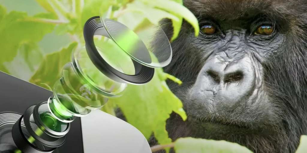New Gorilla Glass goggles allow more light to reach the cell phone camera