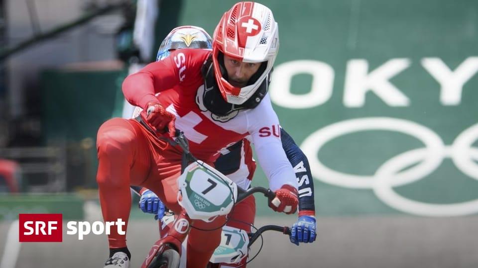 Graf & Claessens in the semi-finals - Swiss BMX team loses the trump card Marquart - Sport