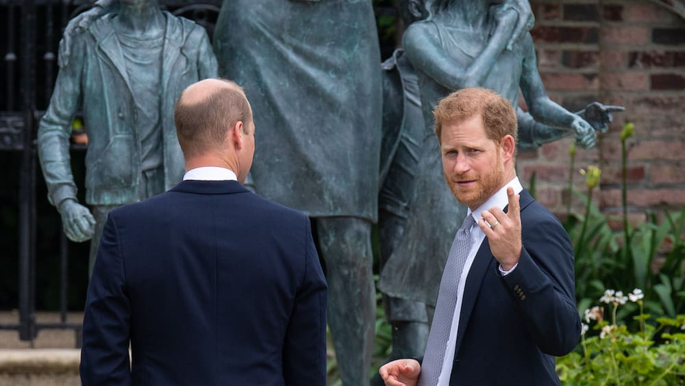 After a glass of champagne, Prince Harry is gone
