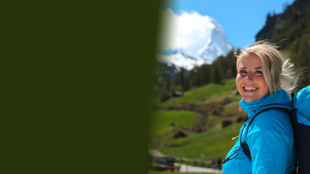 Beatrice Egli training to climb the Matterhorn