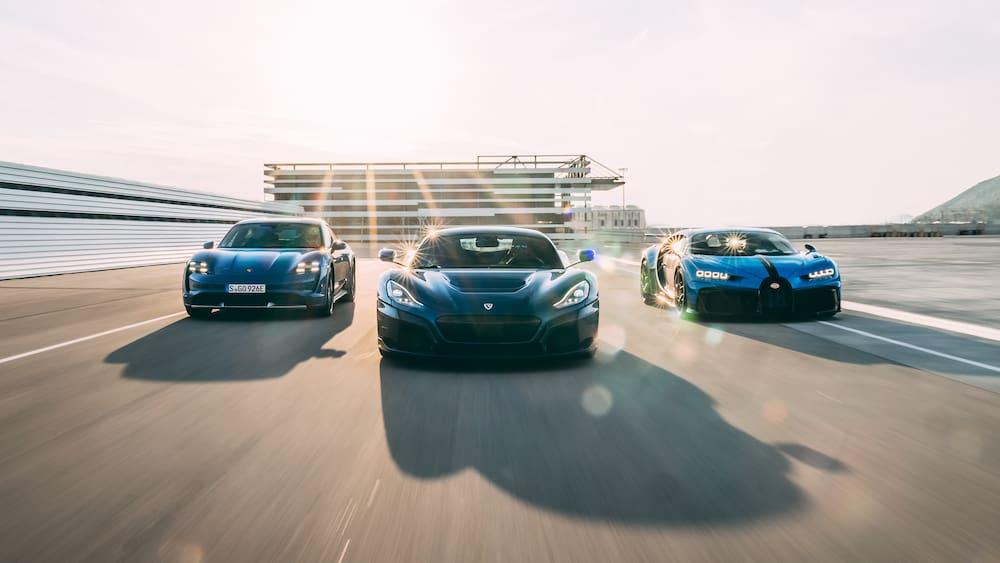Bugatti Rimac's new super sports car maker - show