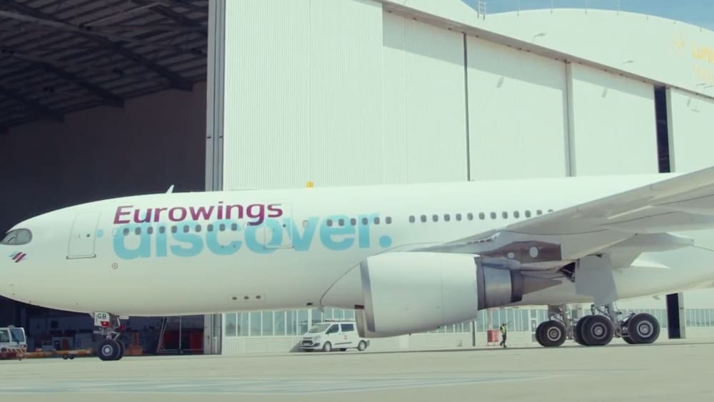 Eurowings ads Find out on the Swiss intranet: unionists are angry