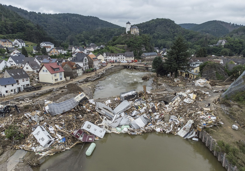 Germany has already been warned four days before the floods