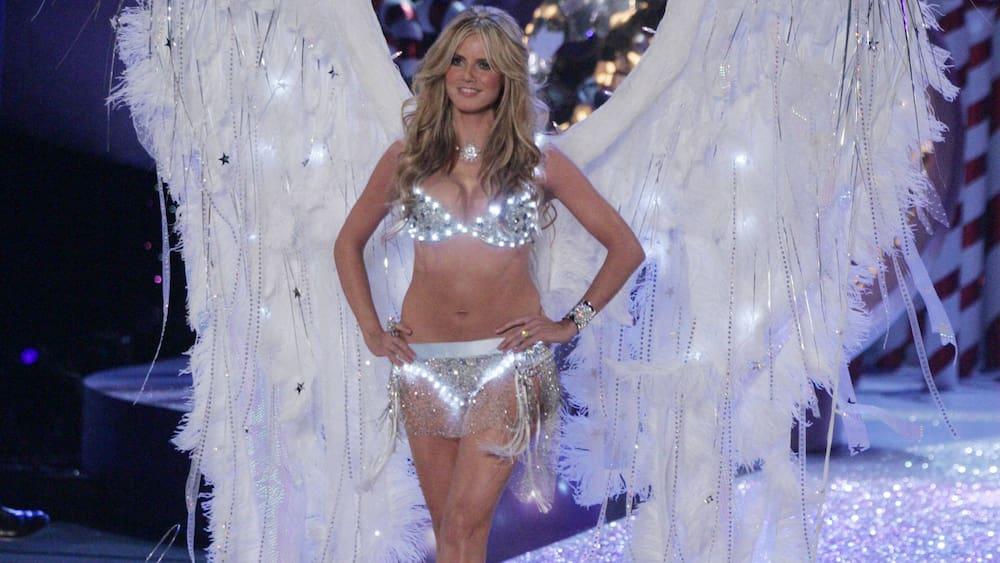 Heidi Klum presents a new concept from Victoria's Secret